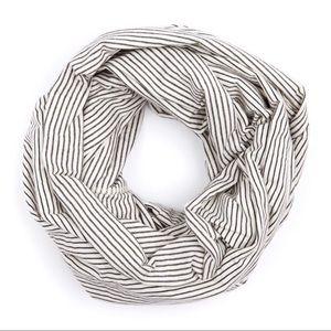 American Apparel Unisex striped Circle Scarf OS